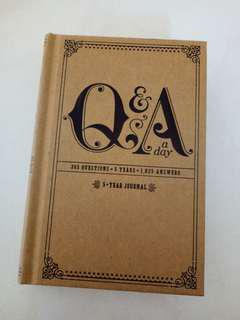 Q&A 5-year Daily Journal Potter Style