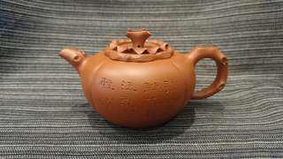 早期宜興紫砂壺、蔣順英、柿子壺