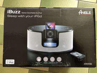 Radio speaker compatible with MP3, laptop, iPod