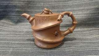 早期宜興紫砂壺、周鵬甲、竹壺