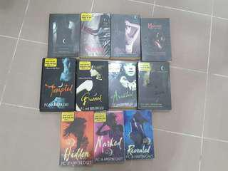House of night series(full) #SBUX50