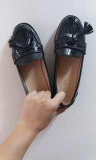 Zalora Black Tassel loafers
