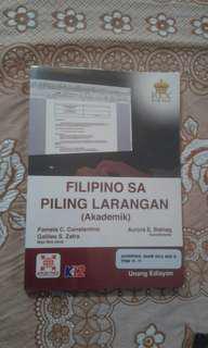 Filipino sa Piling Larangan (Grade 12 - SHS)