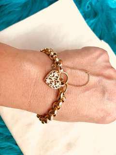 Real 9ct Belcher Bracelet