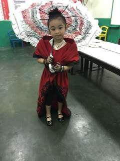 buwan ng wika costumes(accessories not included,,.dress only)