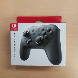 Switch pro controller pro制 黑色