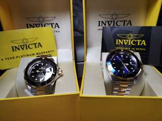 Invicta Pro Divers 200m Two tone watches BUNDLE *Rolex Homage