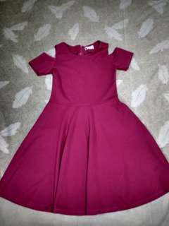 Fuschia Dress