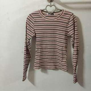 Stretchy Cotton Pink Tee