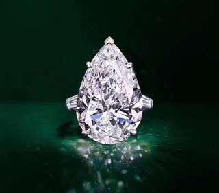 18K Diamond Ring 3.26 D IF
