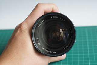 Vivitar 28mm f2.5 MD mount with filter 舊鏡老鏡可用於無老a7 a6000 a5100