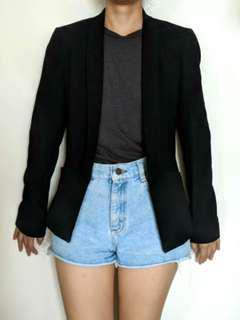 Promod black coat blazer