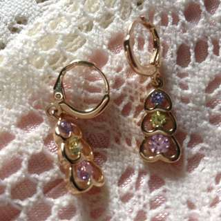 Rosegold earrings