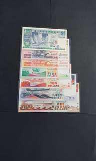 船$1-$100  共7 pcs  AU