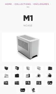 NCase M1, high quality mini-ITX case. New, in box.