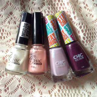 CHIC nail color BUNDLE