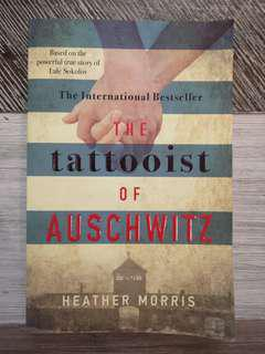 🚚 The tattooist of Aushwitz