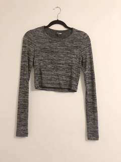 Wilfred Free - Raposa long sleeve crop top