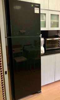 Hitachi Black Refrigerator