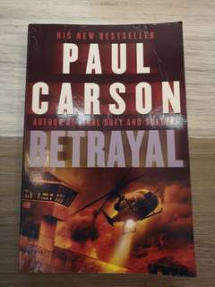 🚚 Betrayal by Paul Carson