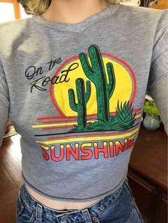 Sunshine cropped jumper