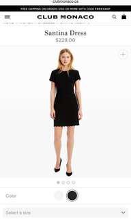 Club Monaco Santina Dress Size 00