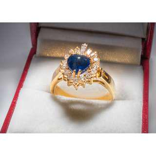 Gold Diamond Ring Women Jewelry