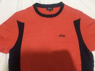 authentic asics shirt