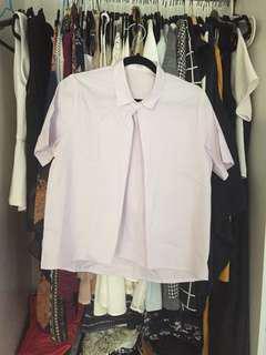 Lilac top / shirt