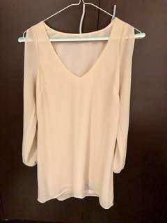 Tobi little white dress