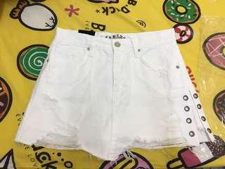 韓國 白色裙褲 全新 包平郵