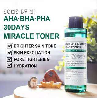 ✅READY STOCK✅ 💯 ORIGINAL Some by Mi 30days Miracle Toner