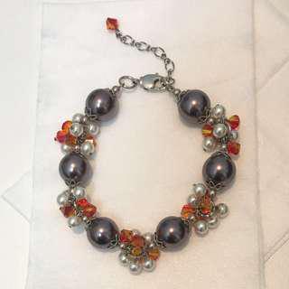 Swarovski Pearl & Crystal Bracelet