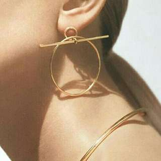 Geometric Earrings (Gold)