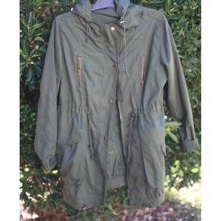 Army Green Lightweight Utility Jacket