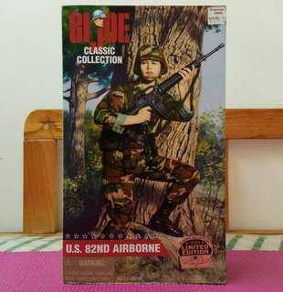12 吋 1:6 G.I.JOE Classic Collection U.S.82nd Airborne Female Soldier Figure 美軍82空降師女兵公仔