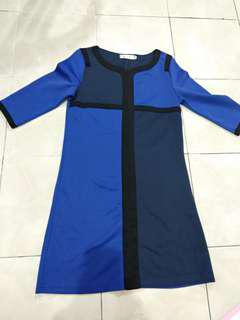 Dress navy blue