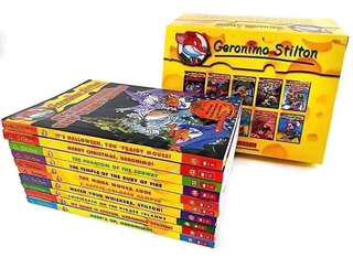💥 NEW - Geronimo Stilton 10 books set #11-20  NEW PACKAGING