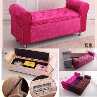 Preorder sofa storage bench , bed tail Sofa stool , ottoman