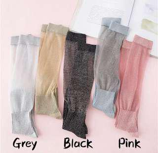 [BNWT] Long Socks with transparent glitter layer