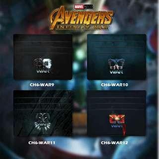 Custom Card Holder design Avengers 3