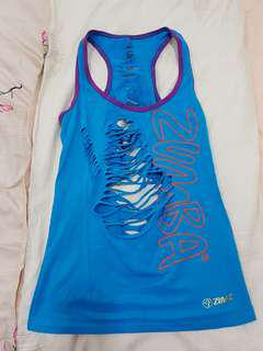 Pre-loved Zumba Top