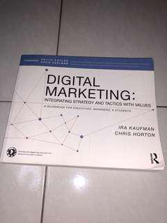 Digital Marketing: Integrating Strategy and Tactics with value