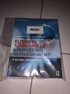 (B2B) Business to Business Marketing Management