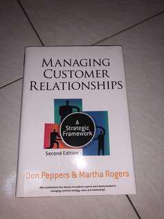 Managing Customer Relationships Textbook