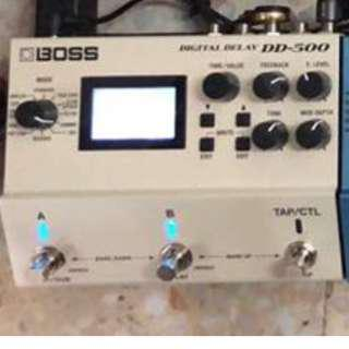 Boss DD500 Delay Pedal