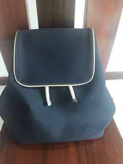 Original Lacoste backpack repriced