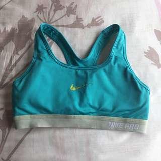 Nike Pro Sports Bra (turquoise)