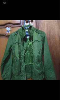 Bomber jacket bershka ori