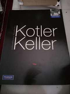 Kotler Keller marketing management